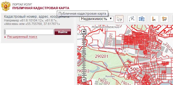кадастровая карта земельных